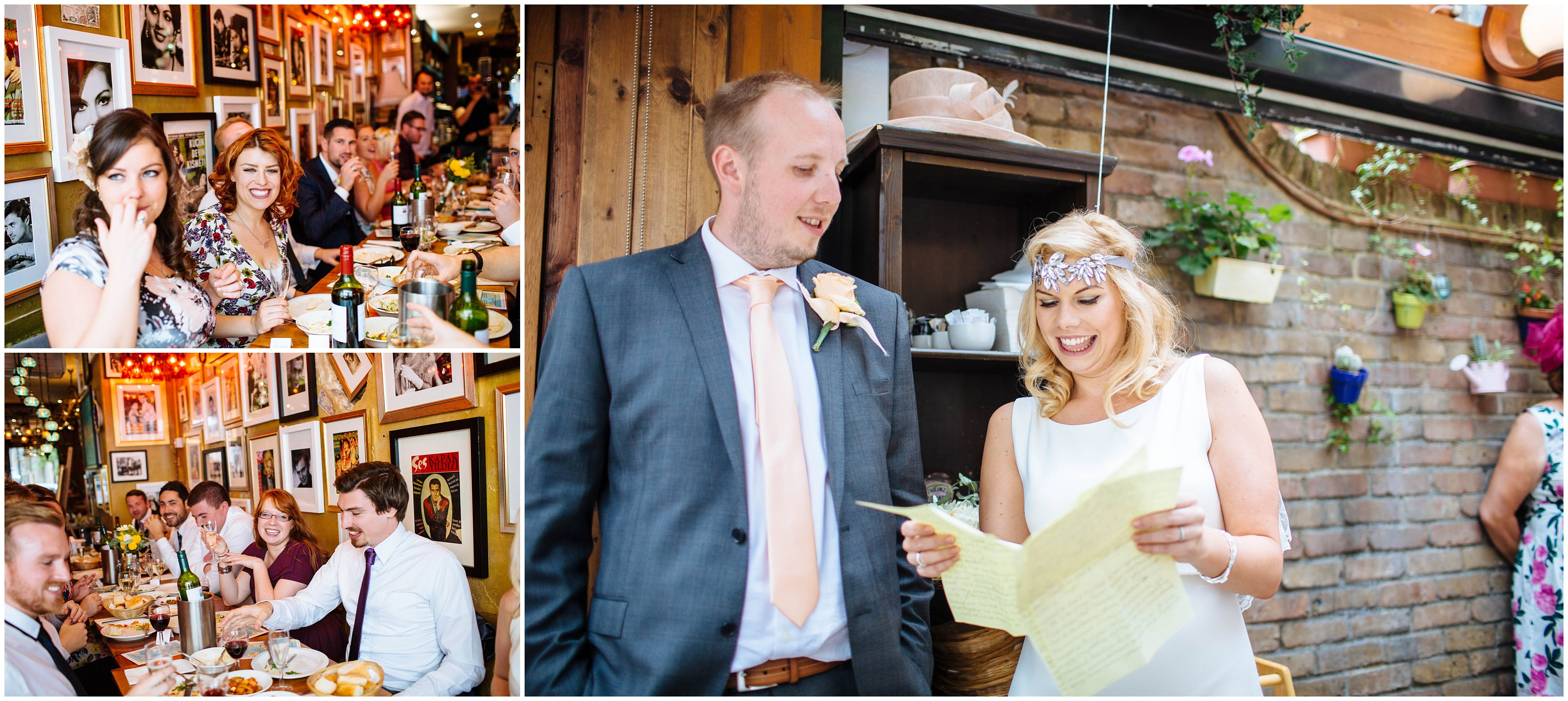 Jess and James\' Fun and Relaxed London Cinema Wedding - Laura ...
