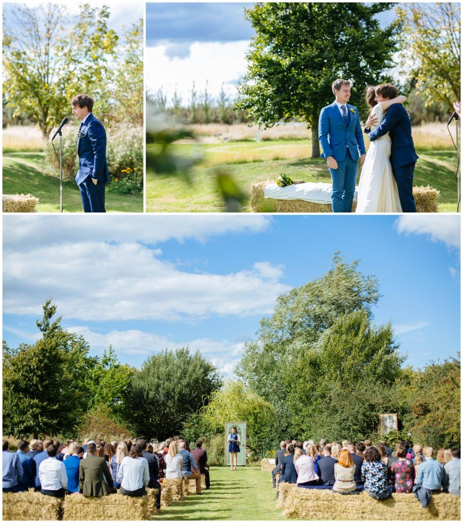 tipi wedding in Cambridge
