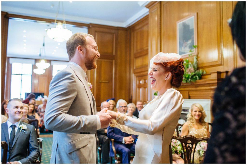 wedding at Prince Albert in Camden