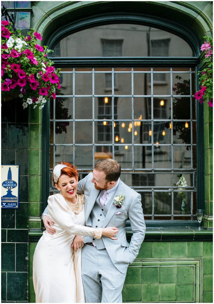 wedding at Prince Albert in Camden