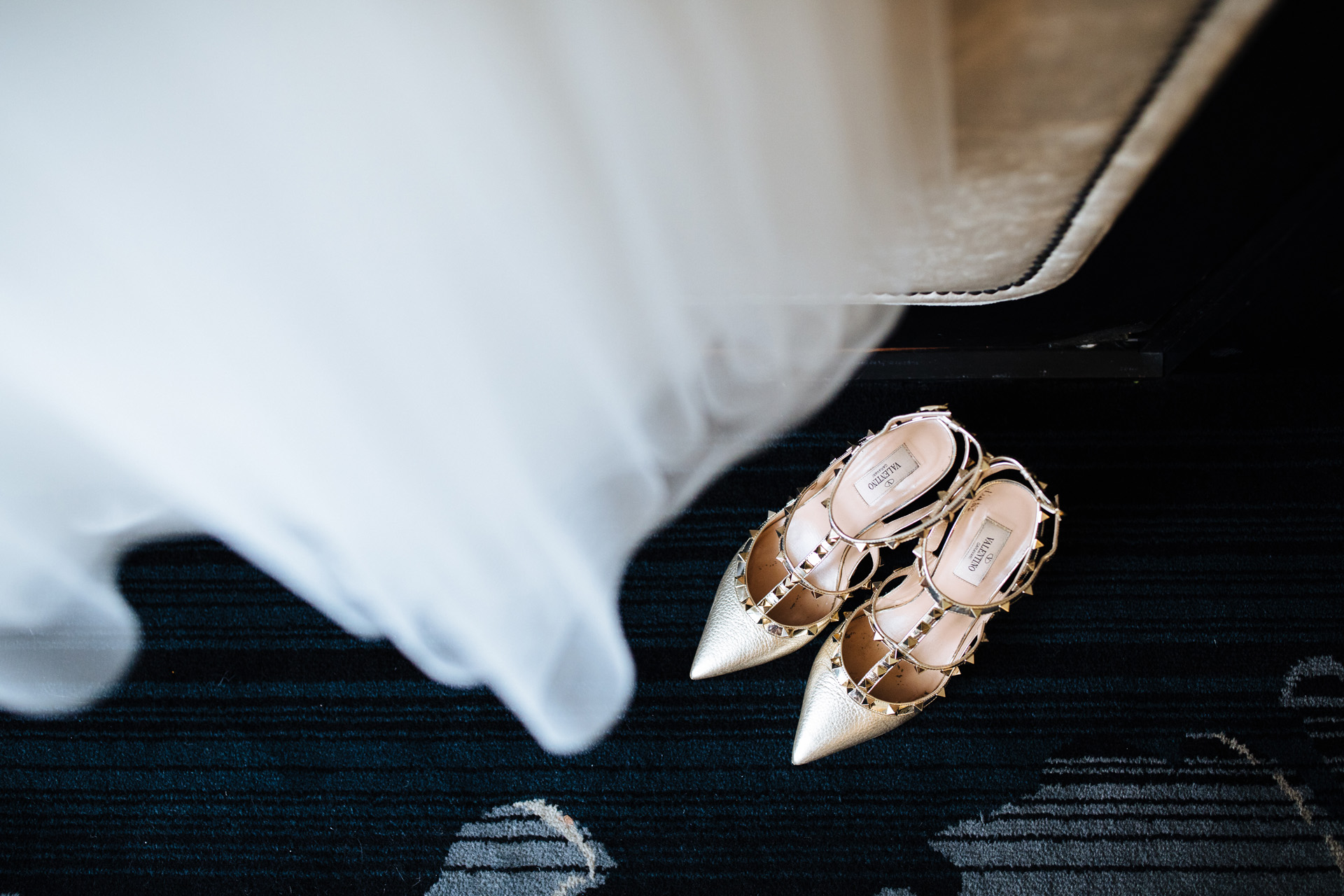 brides Valentino shoes