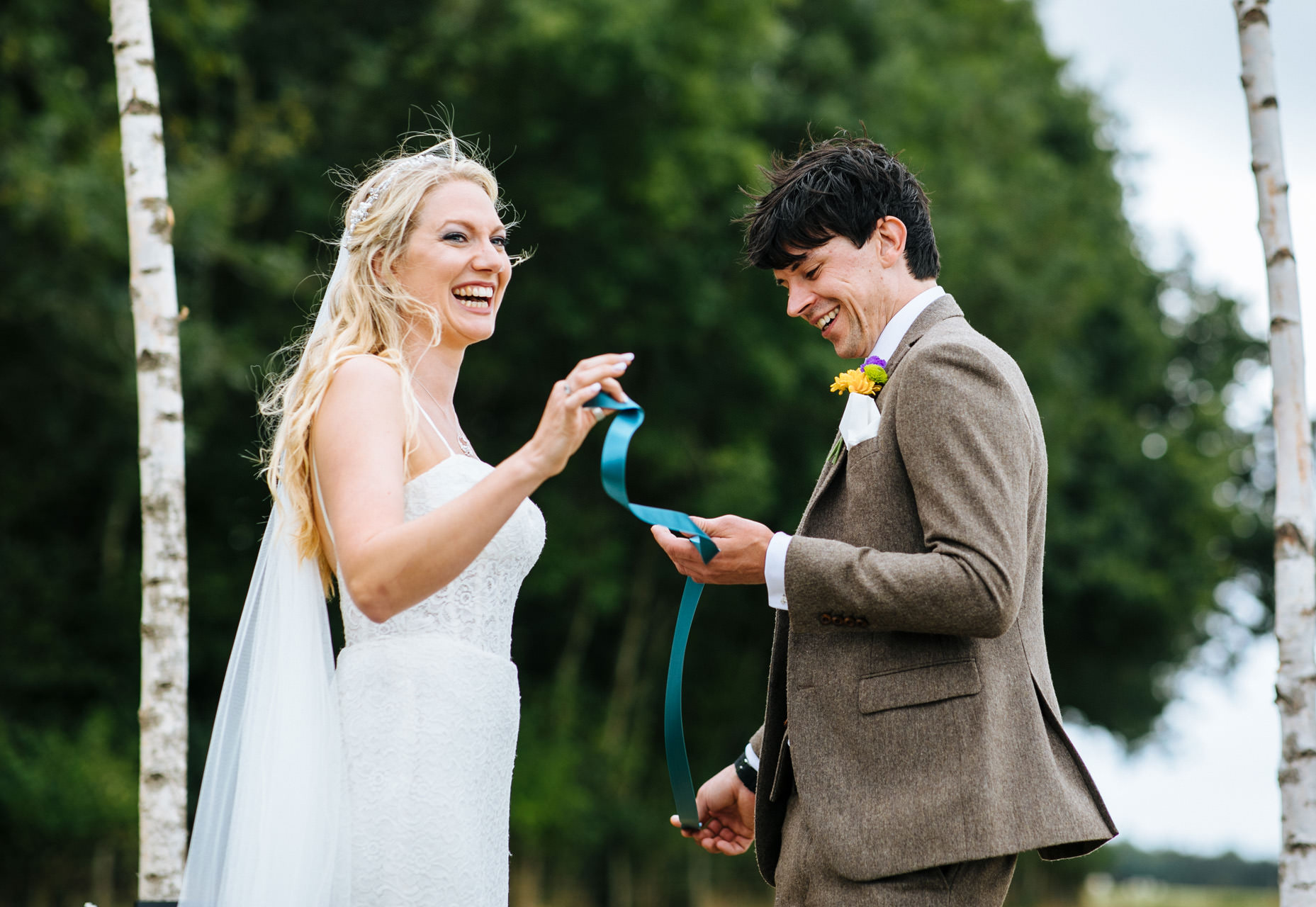 hand fasting wedding ceremony in Kent