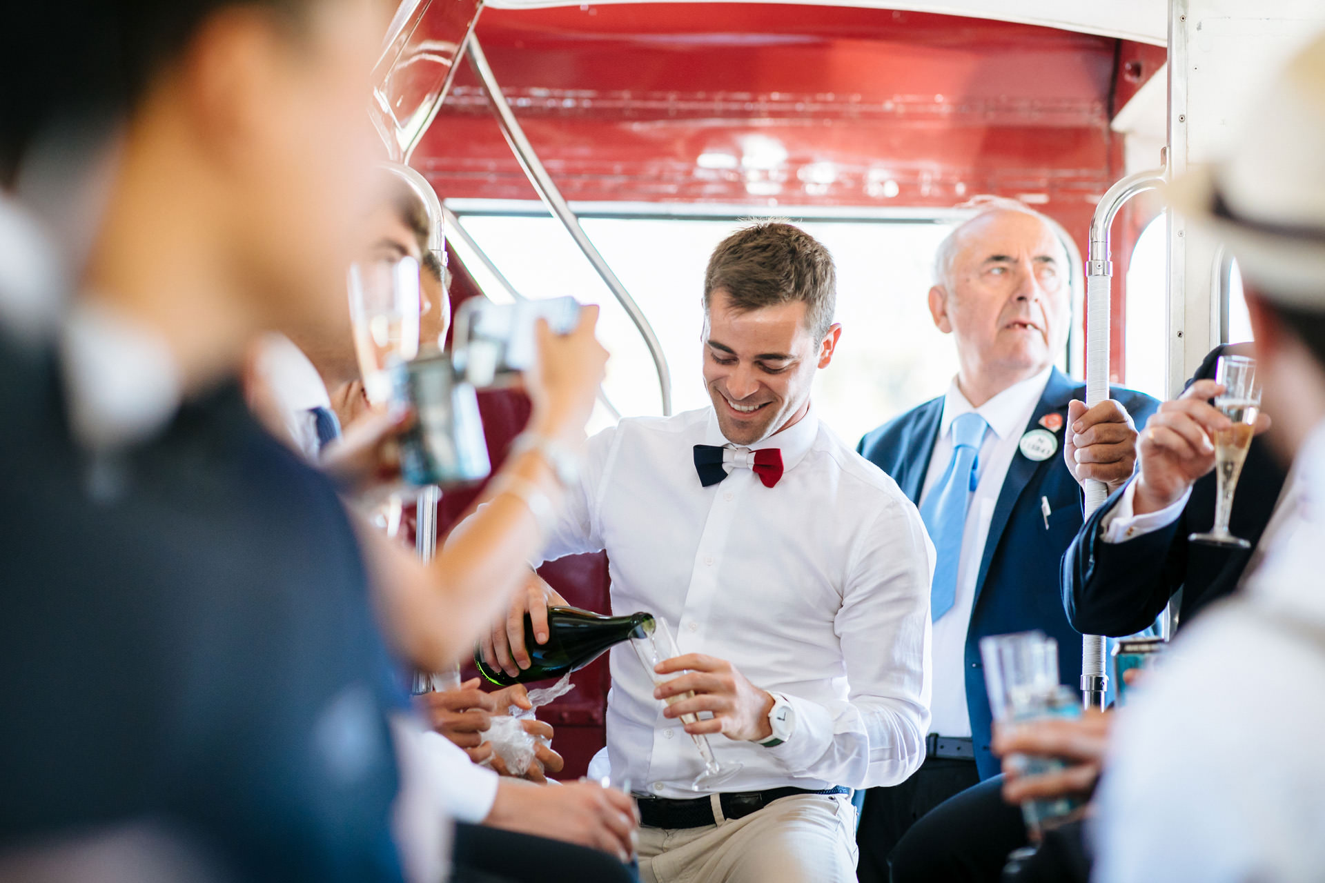 London routemaster wedding