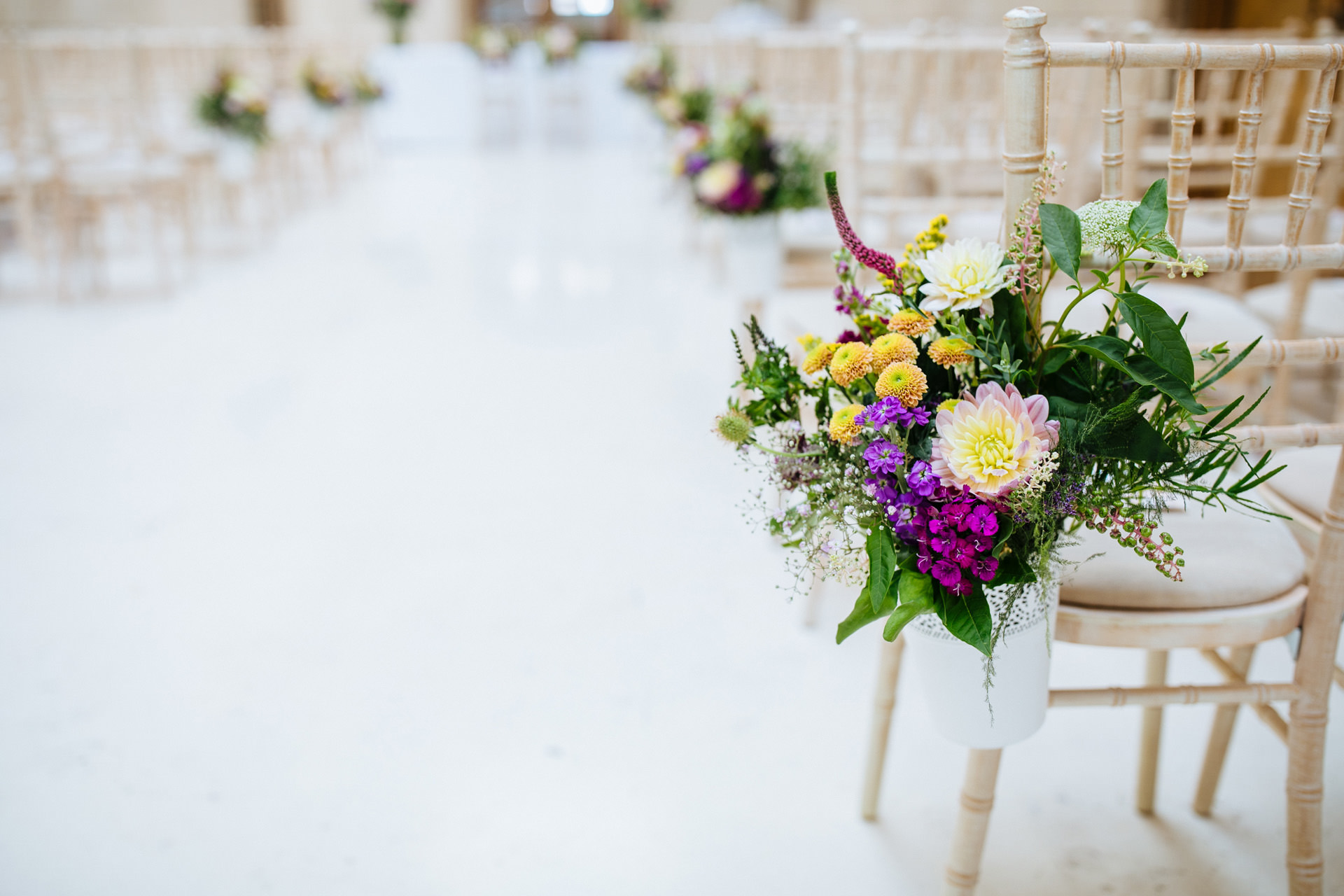 Hammersmith town hall wedding flowers